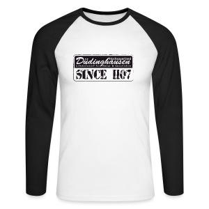 Düdinghausen since 1107 - Männer Baseballshirt langarm