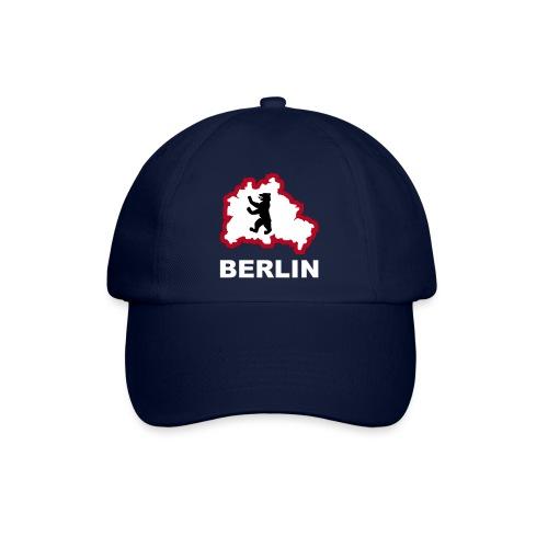 Berliner Bär Hauptstadt Bundestag Fernsehturm Tor Stadtkarte Map - Baseballkappe
