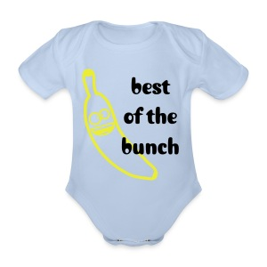 best of the bunch - Organic Short-sleeved Baby Bodysuit