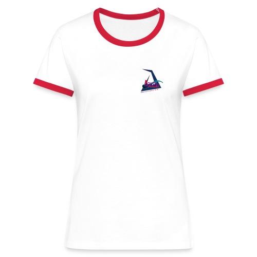 MOIST FILMS GIRLS TEE - Women's Ringer T-Shirt