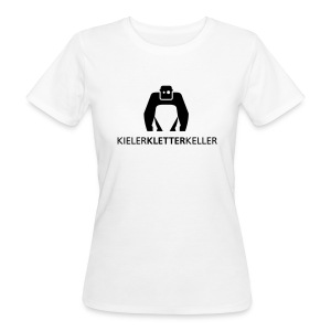 Bio-T-Shirt - Schwarzes Logo - Frauen Bio-T-Shirt