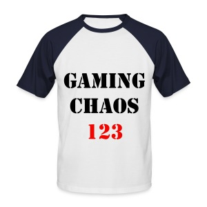 GAMINGCHAOS123 SHIRT! - Men's Baseball T-Shirt