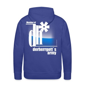Official Fan-Shirt of derherrgott`s Army - Männer Premium Hoodie