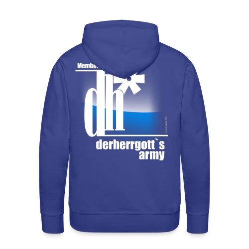 Official Fan-Shirt of derherrgott`s Army - Männer Premium Hoodie