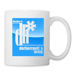 Official Kaffeetasse of derherrgott`s Army - Tasse