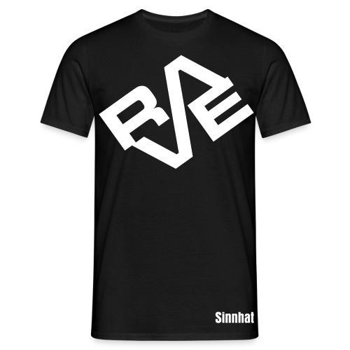 Sinnhat RAVE Designs Men 187 - Männer T-Shirt