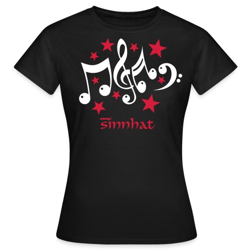 Women T-Shirt Sinnhat Music - Frauen T-Shirt