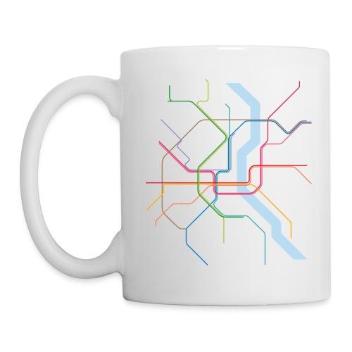 Subway Cologne - Tasse