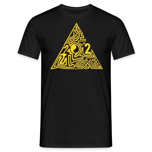 shirt maya pyramide 21.12. - Männer T-Shirt