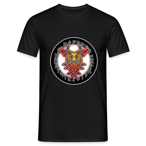 T-Shirt Runenmann von Aahus  - Männer T-Shirt