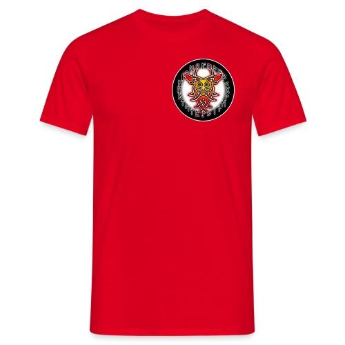 T-Shirt Runenmann von Aahus mit Runenkreis - Männer T-Shirt