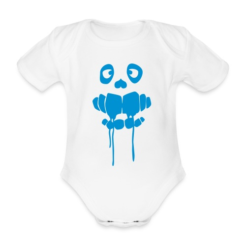 MNSTRZ 03 - Organic Short-sleeved Baby Bodysuit