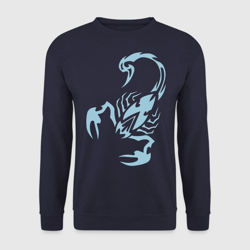 scorpion tribal by CustomStyle Sweat-shirts - Sweat-shirt Homme