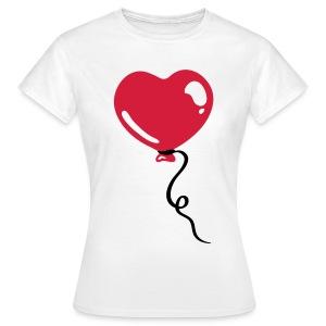 Hart Ballon - Vrouwen T-shirt