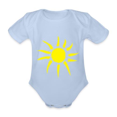 Body bébé soleil - Body Bébé bio manches courtes