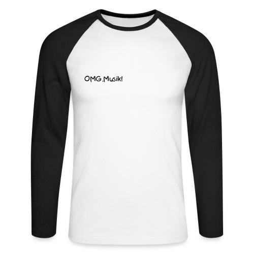 OMG.Musik! Manches longues - T-shirt baseball manches longues Homme