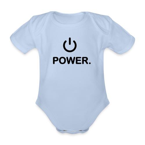 POWER baby body - Body bébé bio manches courtes