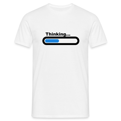 Thinking... (M) - Men's T-Shirt