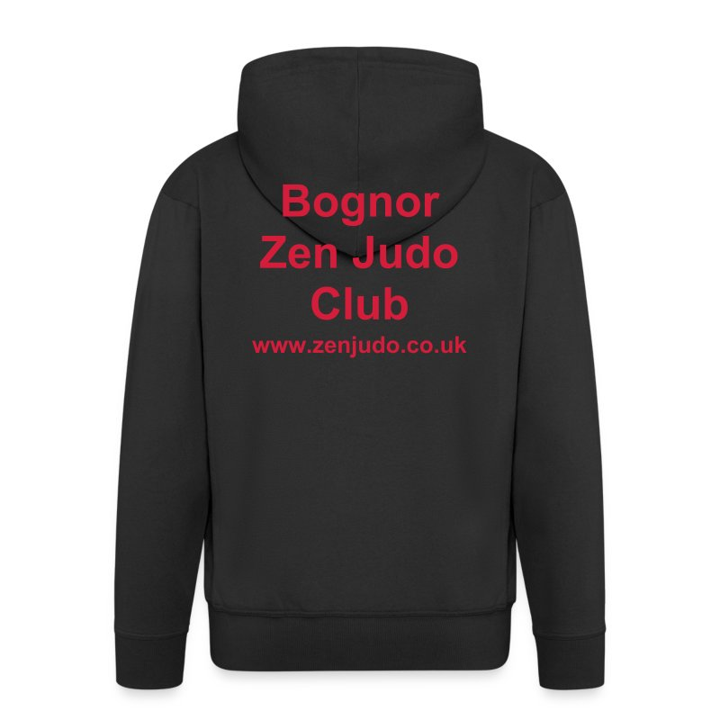 Zen Judo Club Hoodie - Men's Premium Hooded Jacket