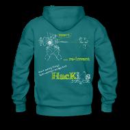 Hoodies & Sweatshirts ~ Men's Premium Hoodie ~ HacKids re-invent Hoody