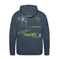 Hoodies & Sweatshirts ~ Men's Premium Hoodie ~ HacKids re-invent Hoody