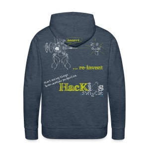 HacKids re-invent Hoody - Men's Premium Hoodie