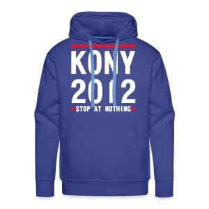 KONY 2012 STOP AT NOTHING  - Men's Premium Hoodie