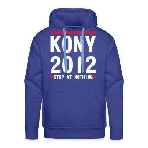 KONY  STOP AT NOTHING  - Men's Premium Hoodie