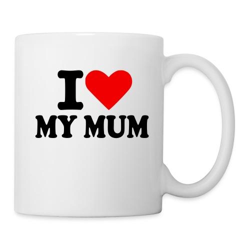 Mug - a very basic but meaningful mug saying i love my mum