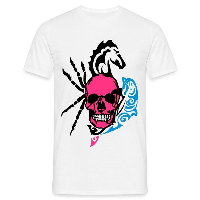 T-shirt tête de mort - Boutique de Sweatshirts Tête de mort   tete ... 40a347f25d6e