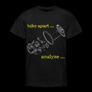 Shirts ~ Teenage T-shirt ~ HacKids re-invent (Teen)