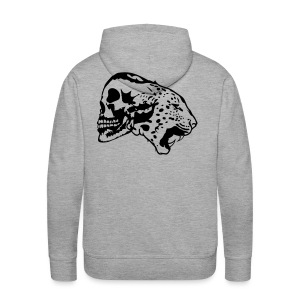 tribal tete mort tigre dead head1 Sweat-shirts - Sweat-shirt à capuche Premium pour hommes