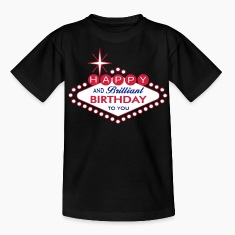 Happy Birthday - Las Vegas Style Shirts