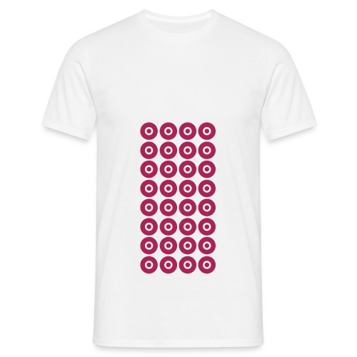 32 Nipples Type 1 (for men) - Mannen T-shirt