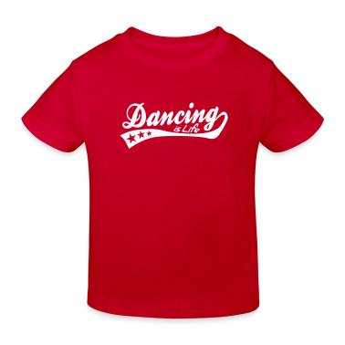 dancing is life - retro Kids' Shirts