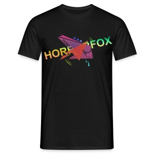 HorrorFox Complex Men's Tee [Black] - Men's T-Shirt
