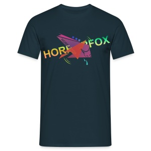 HorrorFox Complex Men's Tee [Navy] - Men's T-Shirt