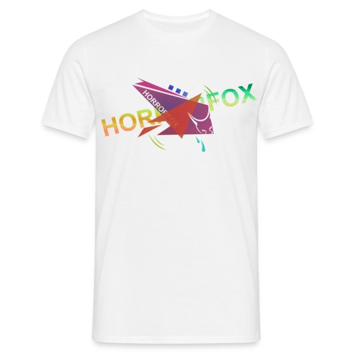 HorrorFox Complex Men's Tee [White] - Men's T-Shirt