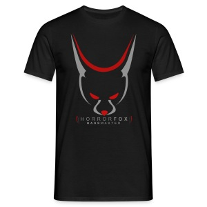 HorrorFox Simple Men's Tee [Black] - Men's T-Shirt
