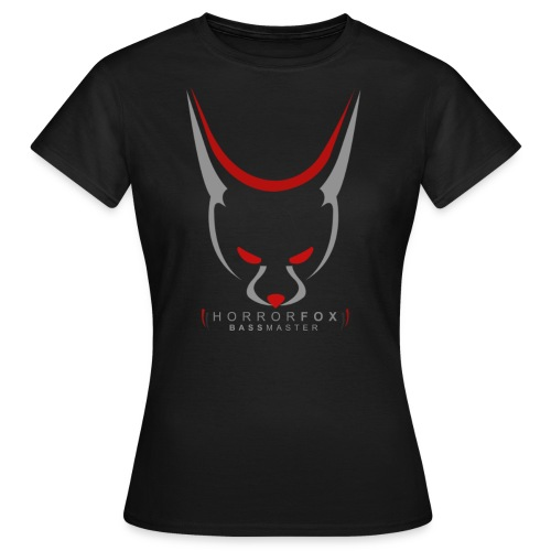 HorrorFox Simple Women's Tee [Black] - Women's T-Shirt