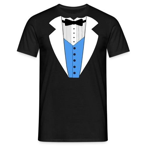 TUXEDO SMOKING ANZUG SHIRT - Männer T-Shirt
