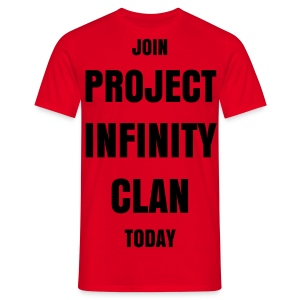 Project Infinity Promote Shirt - Men's T-Shirt