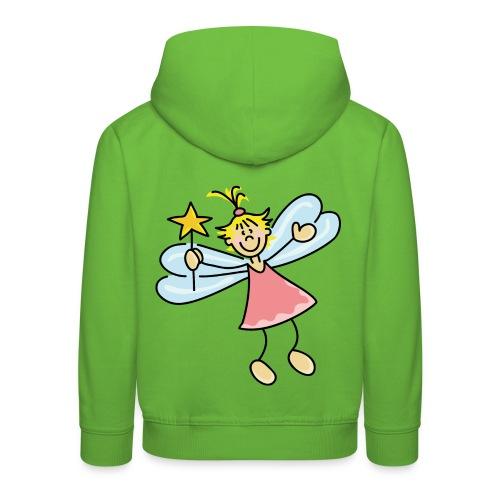 petite fée - Pull à capuche Premium Enfant