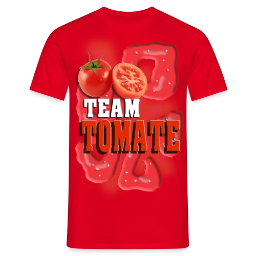 Team Tomate - Männer - Männer T-Shirt