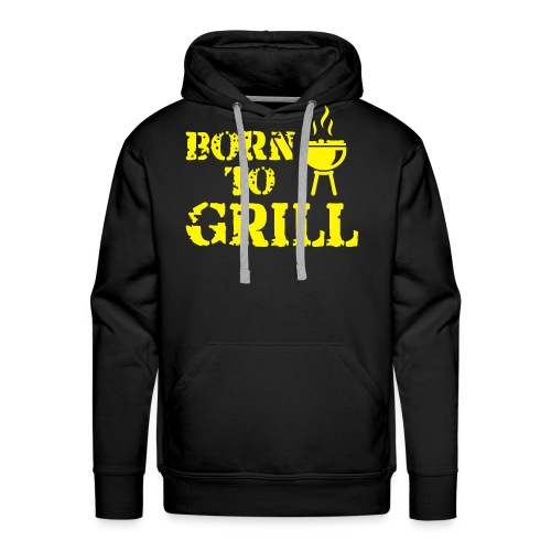 Grill - Männer Premium Hoodie