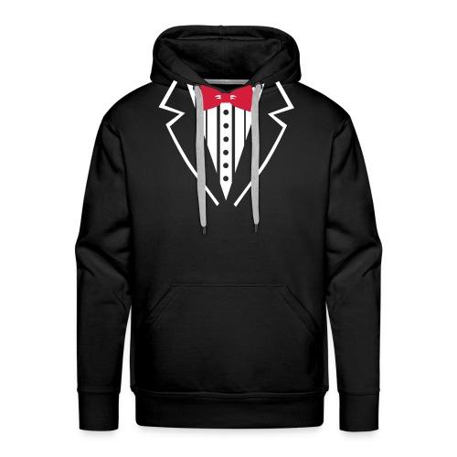 suit on - Männer Premium Hoodie
