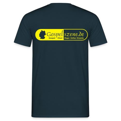 Gospelszene.de - Männer T-Shirt