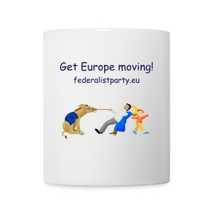 Get Europe moving! - Mug with logo - Mug