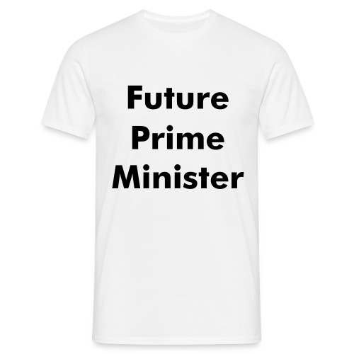 Mens Future Prime Minister TEE - Men's T-Shirt