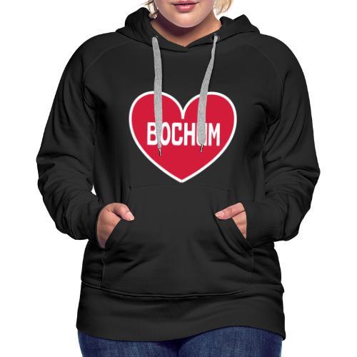 Bochum Herz - Frauen Kapuzenpulli - Frauen Premium Hoodie